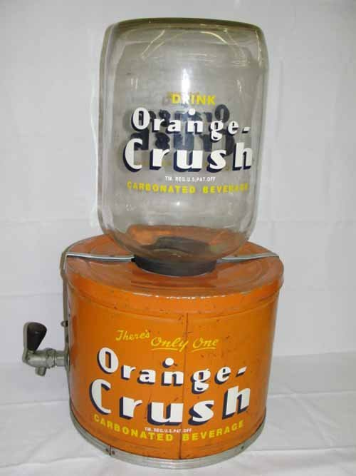 7: Orange Crush Soda Dispenser