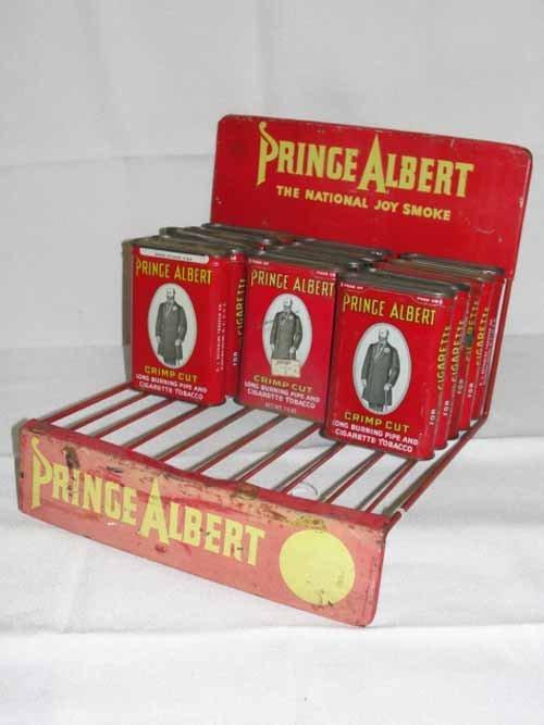 14: Prince Albert tobacco Display