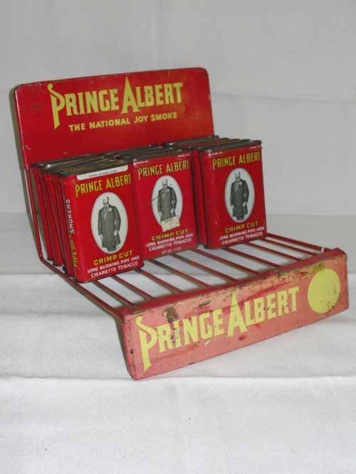 14: Prince Albert tobacco Display - 2