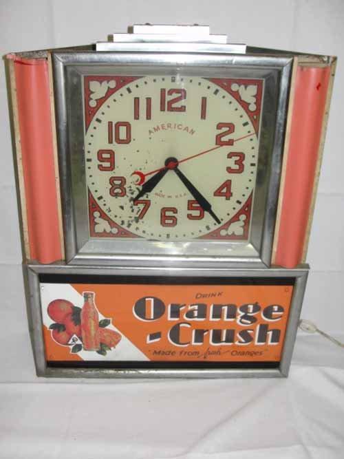21: Orange Crush Clock