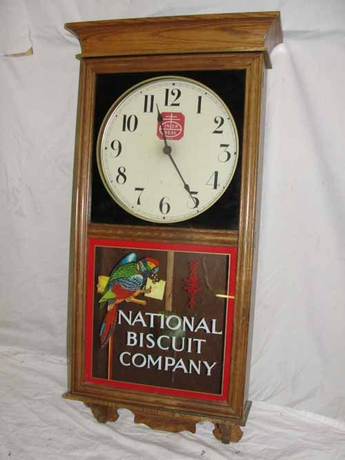 "213: ""National Biscuit Company"" Regulator Clock"