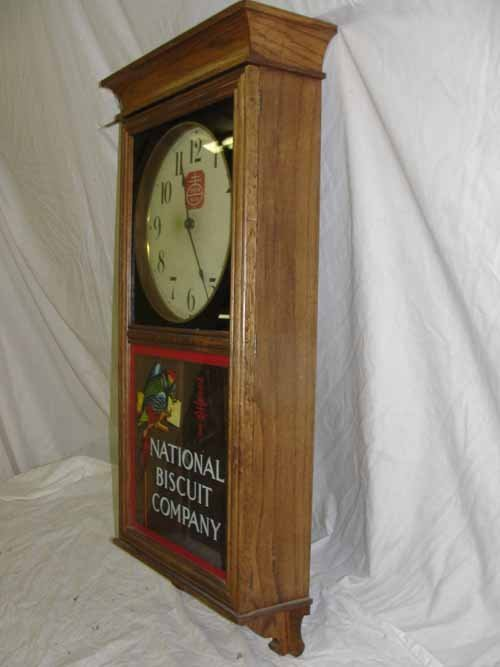 "213: ""National Biscuit Company"" Regulator Clock - 2"