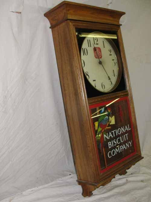 "213: ""National Biscuit Company"" Regulator Clock - 3"
