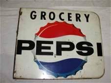 262 Pepsi Grocery Flange Sign