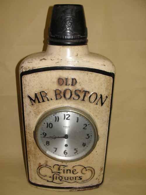 8: Old Boston Clock Bottle