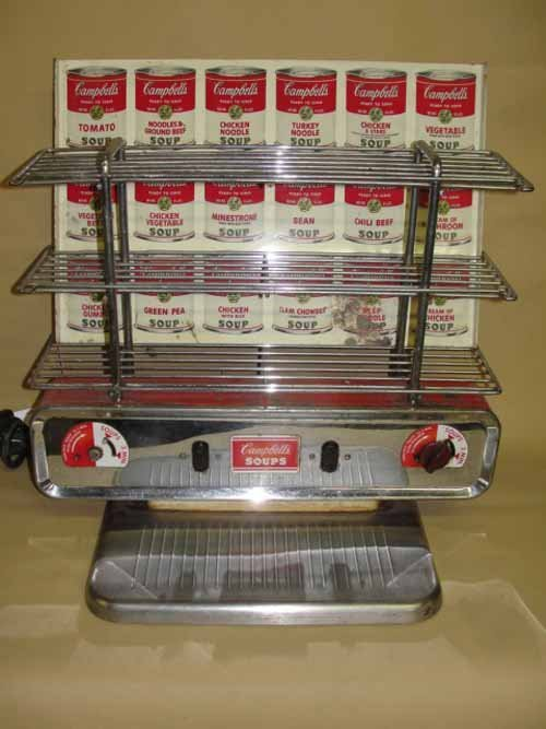 9: Campbell's Soup Display Heater