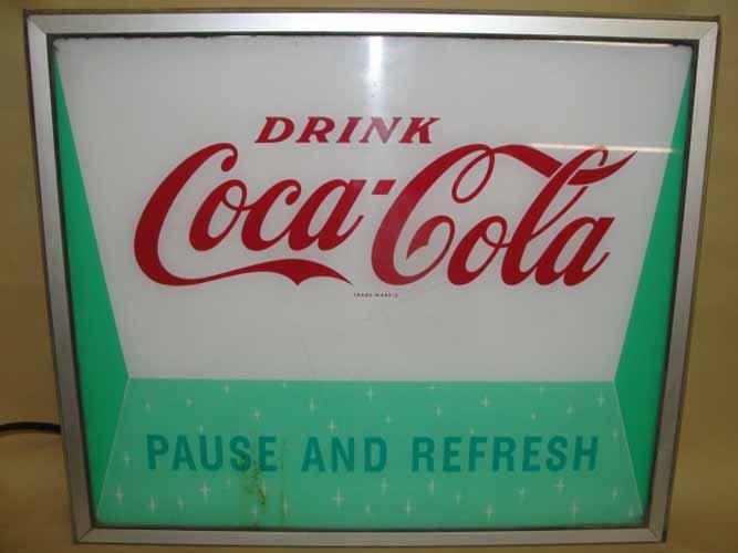 15: Drink Coca Cola Light Up Sign