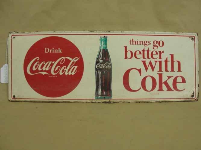 19: Drink Coca Cola Bottle Sign