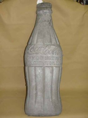 21: Coca Cola Bottle Sign