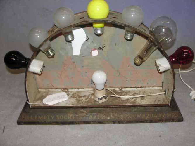 221: Edison Mazda Lamp Display - 2