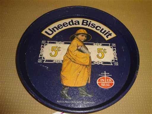 301 uneeda biscuit tray