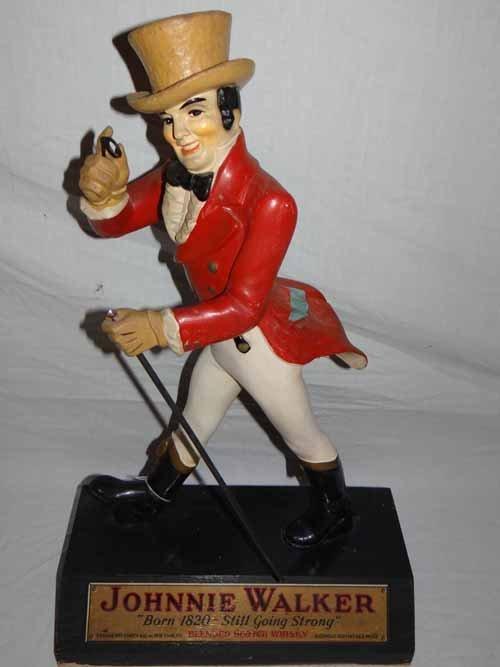 Johnny Walker Red Statue