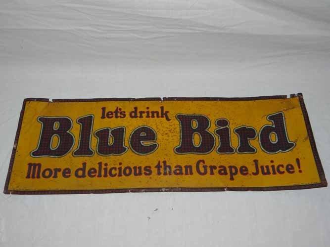 Bluebird Drink Sign