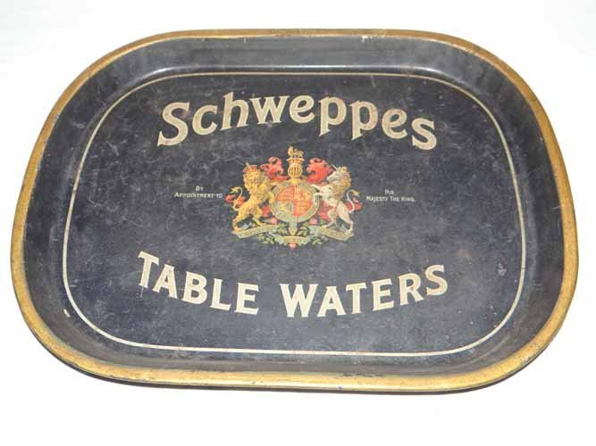 Schweppes Table Water Tray