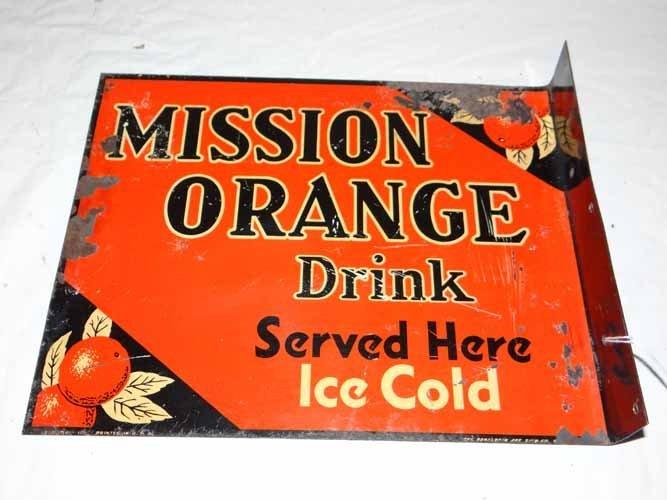 Mission Orange Drink Flange
