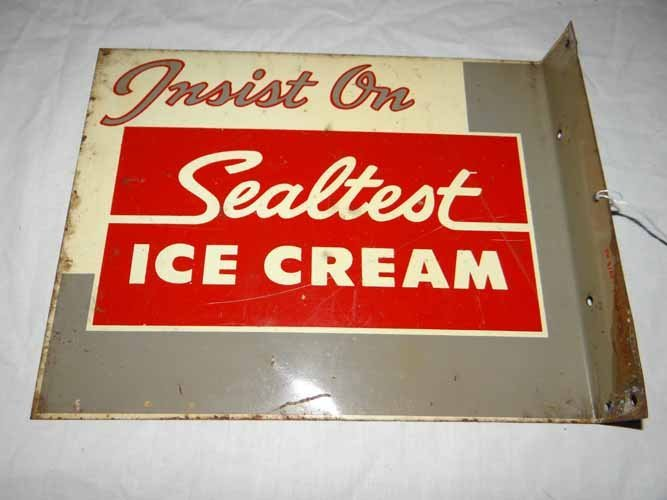 Sealtest Ice Cream Flange