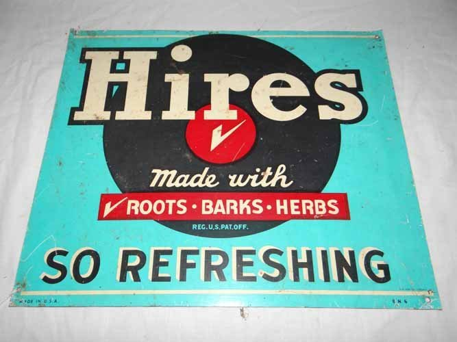 Hires Rot Beer Sign