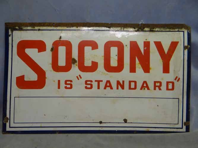 Socony Is Standard Sign