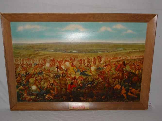 "Budweiser's ""Custer's Last Fight"" Print"