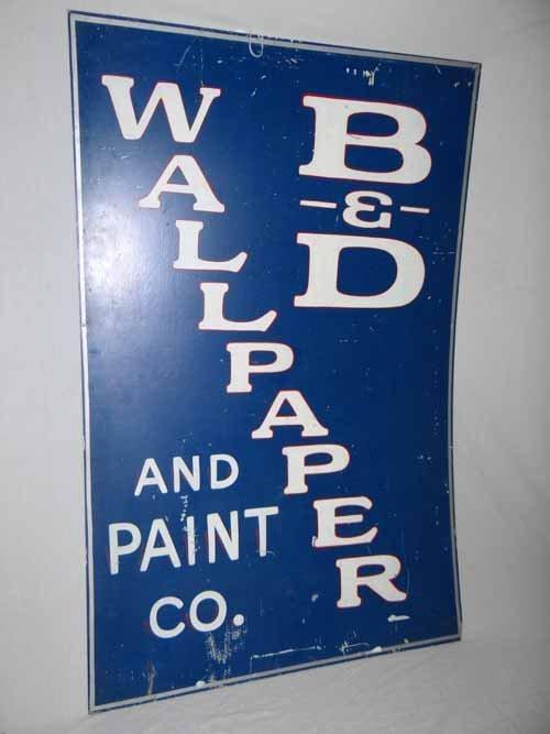 Wallpaper & Paint Sign