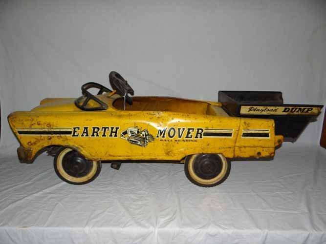Earth Mover Dump Pedal Car