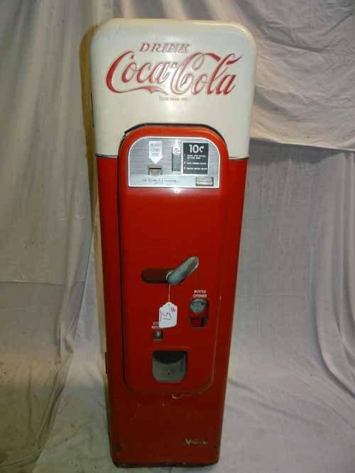 Vendo 44 10 Cent Coca Cola Machine