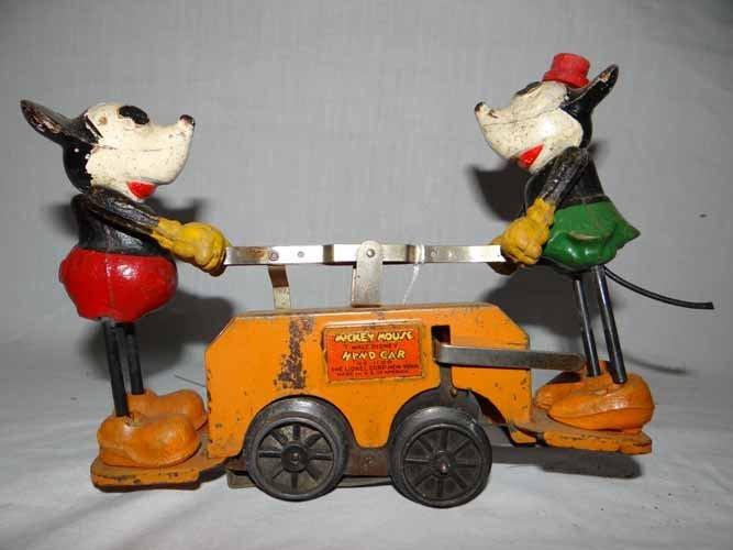 Walt Disney Mickey Mouse Hand Car