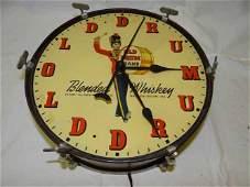 Old Drum Clock