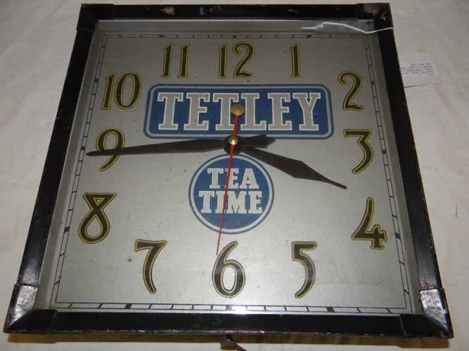 Tetley Tea Time Clock