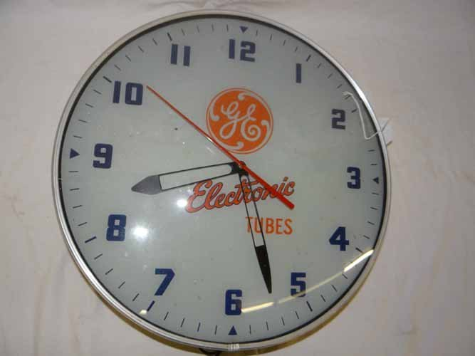 GE Electronic Tube Clock