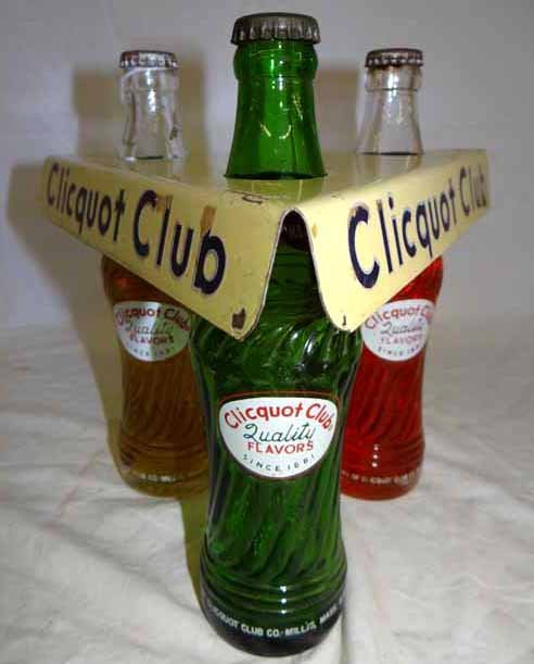 Clicquot Club Bottle Display