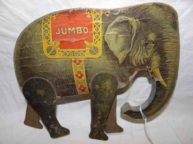 Jumbo the Elephant Figure