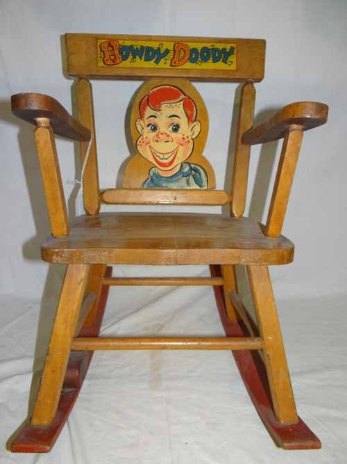 Howdy Doody Rocking Chair