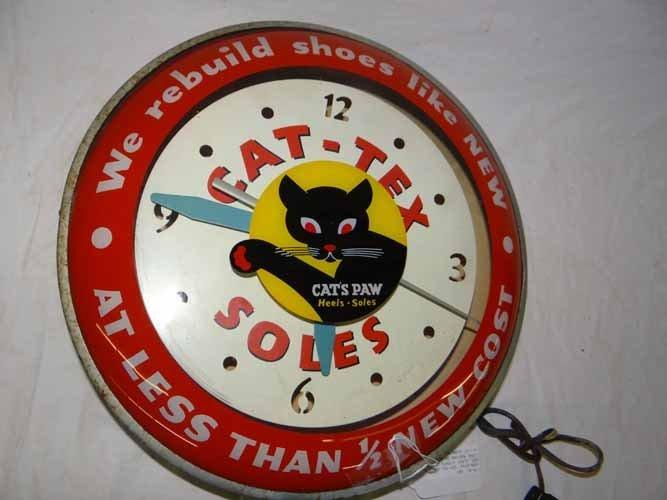 Cat-Tex Soles & Heel Clock