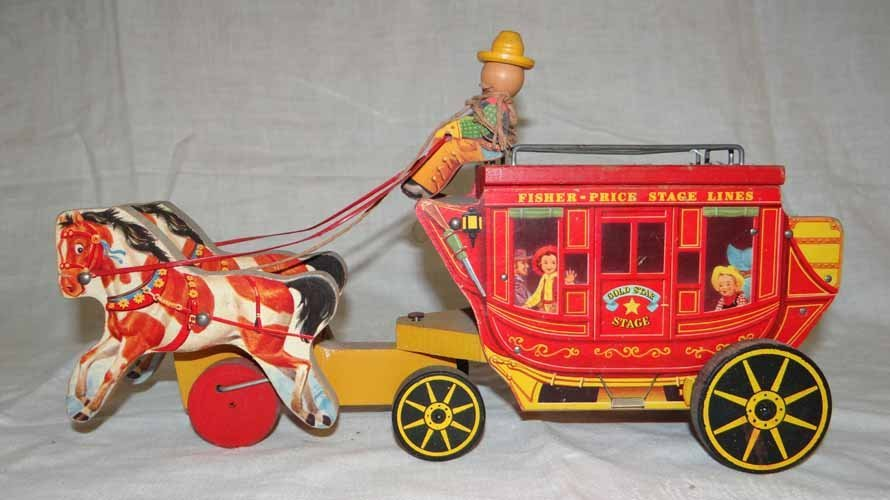 Fisher Price Stagecoach