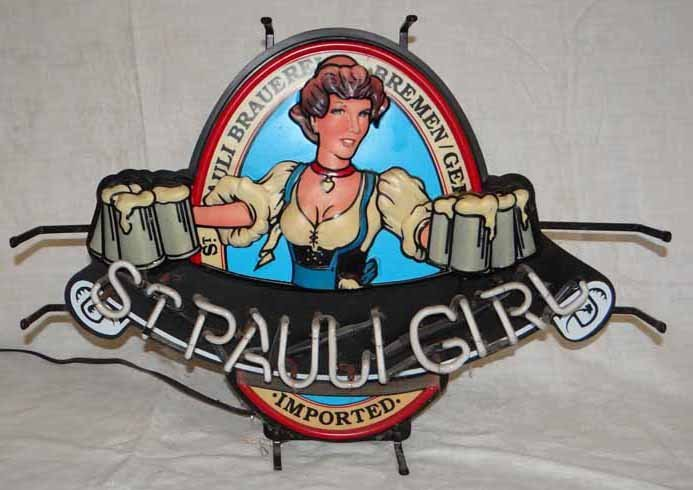 """""""St Pauly Girl"""" Neon Sign"""