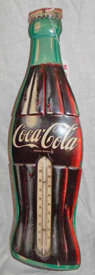 Coca Cola Bottle Thermometer