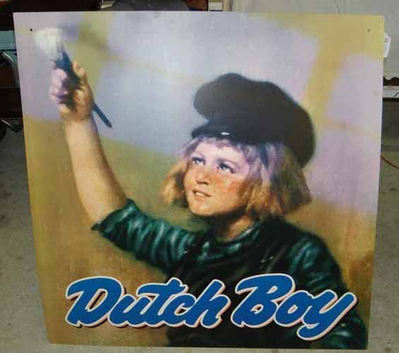 Dutch Boy Paint Advertising Poster