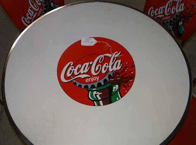 Coca Cola Table & Chair Set - 3