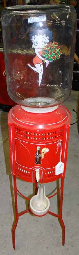 Dispenser with coca cola betty boop water dispenser with coca cola betty boop geotapseo Image collections