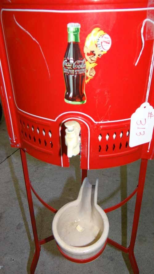 Water Dispenser With Coca Cola & Betty Boop - 2