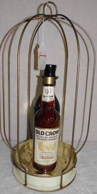 Old Crow Liquor Advert. Birdcage