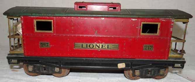 Lionel Standard Gauge Caboose (#217)