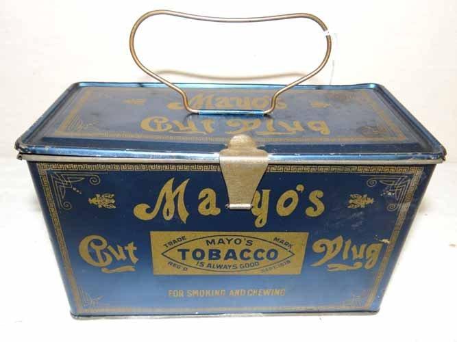 Mayo's Cut Plug Tin