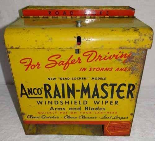 Anco Rain Master Display