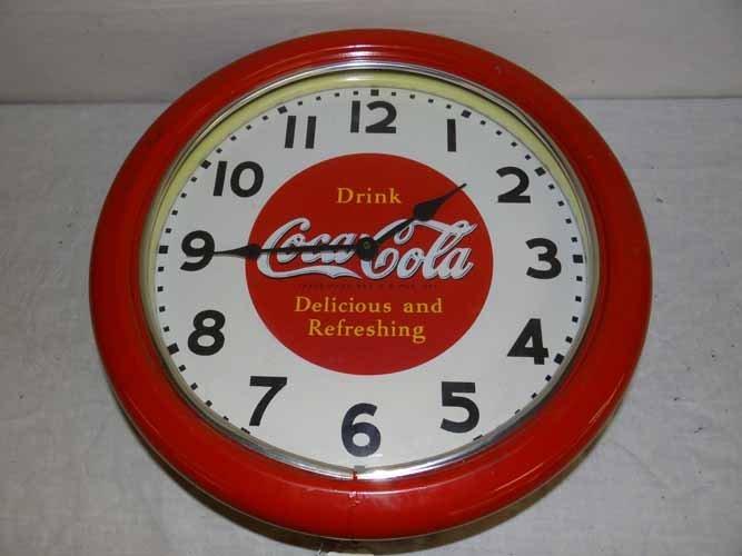 Coca Cola Light Up Neon Clock