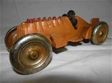 Cast Iron Hubley Race Car