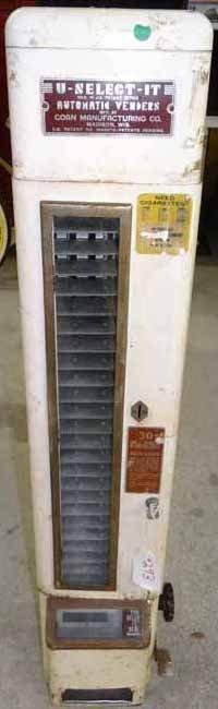 U-Select-It automatic Vendors Cigarette Machine