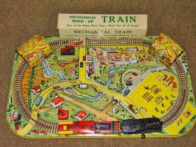 Marx Wind up Train Set