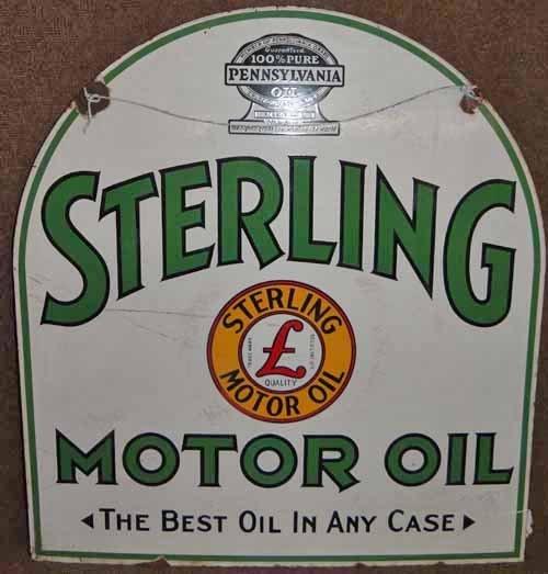 Sterling Motor Oil